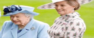 Condesa de Wessex y la Reina