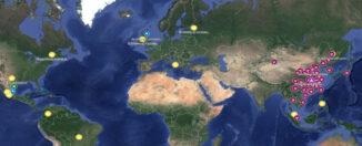 mapa interactivo coronavirus
