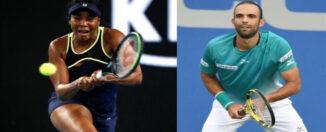 Venus Williams y Juan Sebastián Cabal