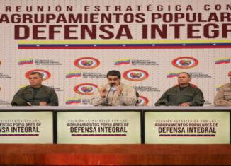 Maduro-milicianos