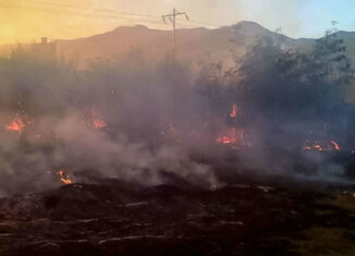 Incendio Cagua