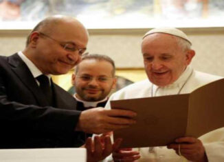 Papa presidente de Irak
