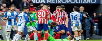Atlético y leganés