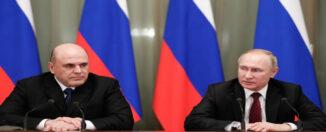 Putin y primer ministro