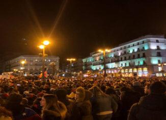 Puerta del Sor con Guaidó