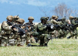 Ejercicios militares Usa y Col