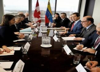 Parlamento de Canadá recibe a Guaidó