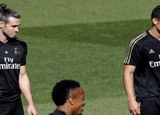 Bale y James Rodríguez