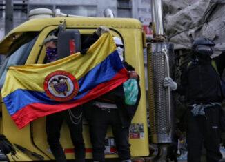 protesta Bogotá