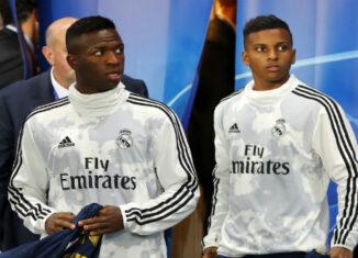 Vinicius y Rodrygo Goes