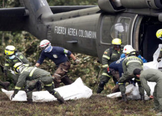 helicóptero colombia