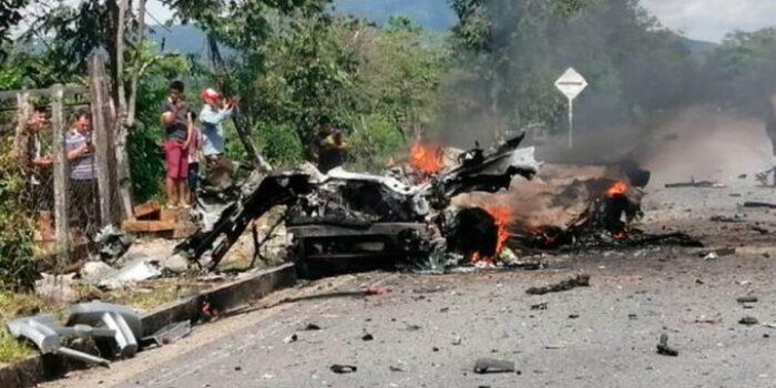 Carro bomba colombia