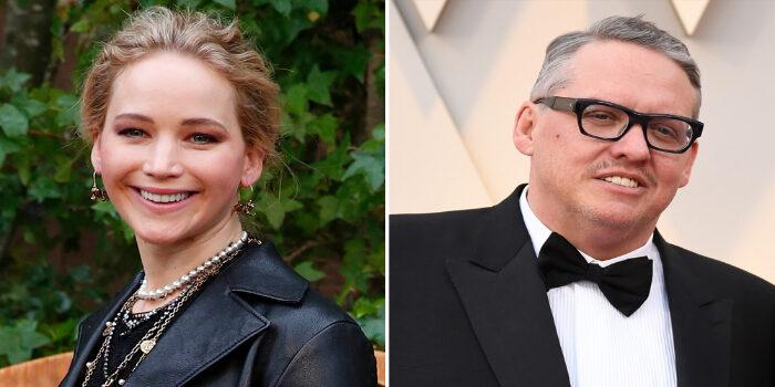 Jennifer Lawrence y Adam McKay