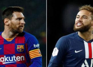 Messi y Neymar Jr