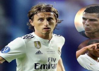 Mbappe, Cristiano y Modric