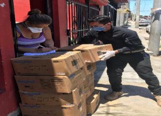 Perú, ayuda vzlanos