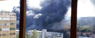 Incendio Los Samanes