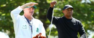 Tiger Woods y Joseph LaCava