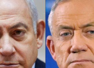 Benjamín Netanyahu y Beny Gantz