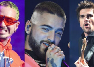 J Balvin, Juanes y Maluma