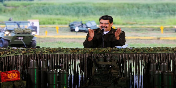 Nicolás Maduro apuesta por sistema de armas con ayuda de Rusia e Irán